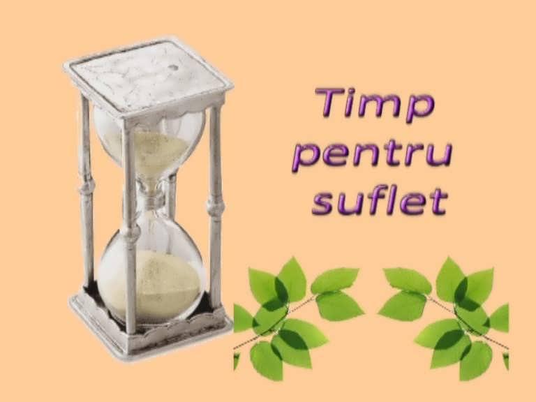 Timp pentru suflet