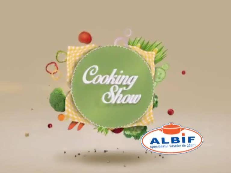 Cooking show by Albif emisiunea 14 dec SEZON NOU